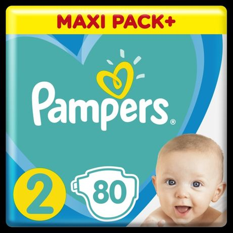 Pampers active baby 2 (4-8 кг)  80 шт