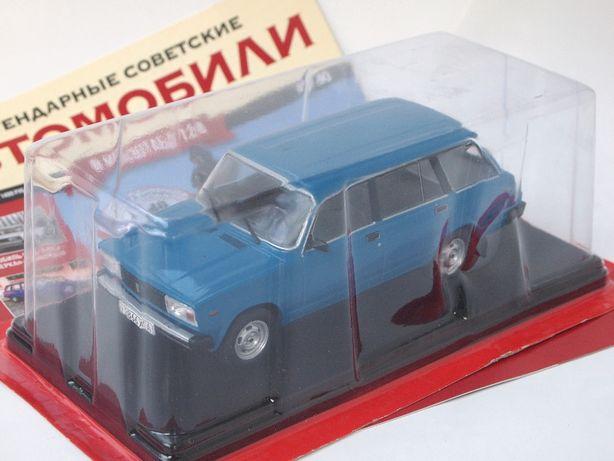 ВАЗ-2104 Жигули Легендарные советские автомобили №40