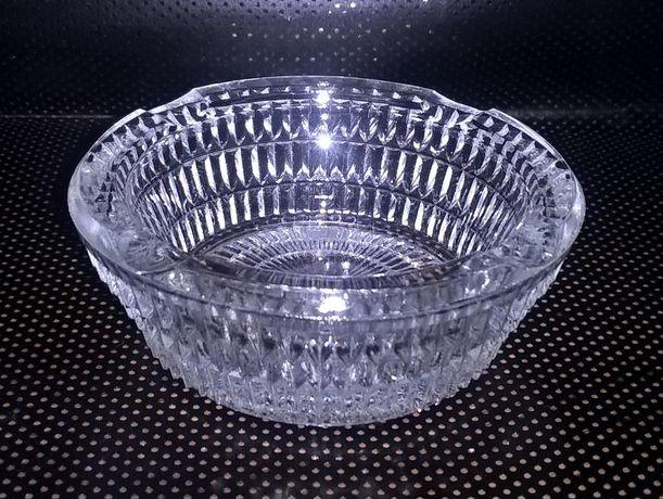 Popielniczka szklana PRL