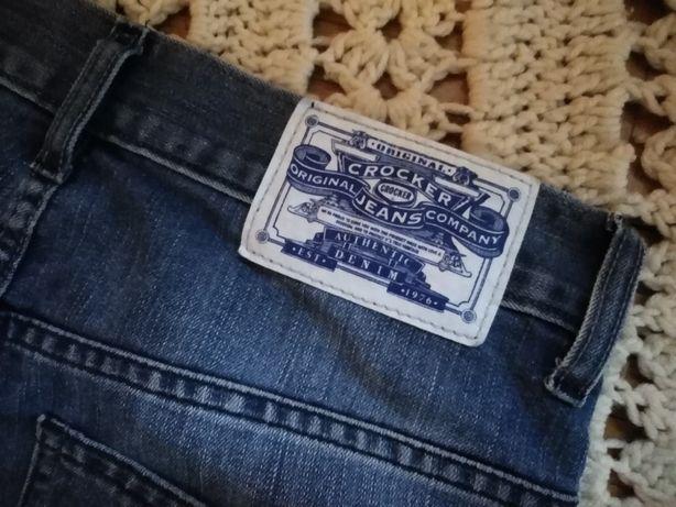 - CROCKER - spodnie jeansowe r:29/32 /p8.