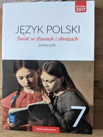 Język polski. Świat w słowach i obrazach. Podręcznik. Klasa 7