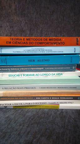 Livros Psicologia/ Pedagogia / Educação