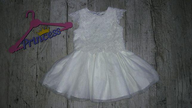 Шикарное платье на 12-18мес