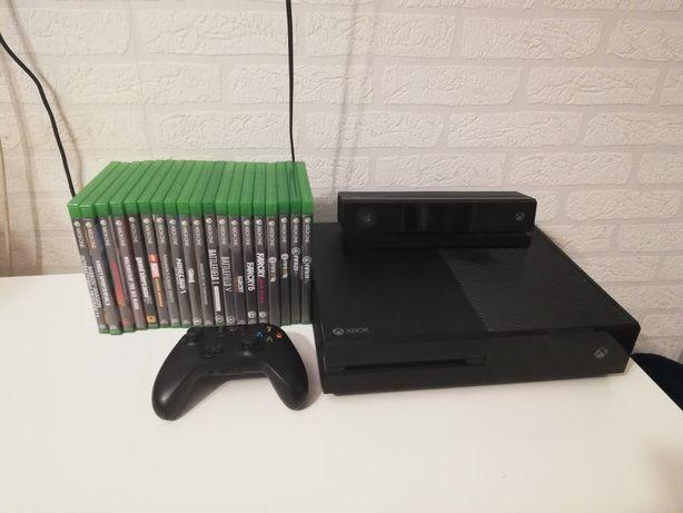 XBOX ONE pad kinect zestaw gier