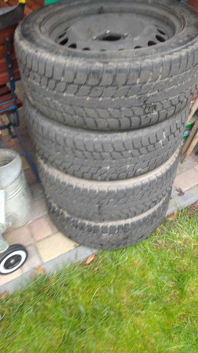 Opony z felgami zimowe Bridgestone 205x55 R16 Sępólno Krajeńskie - image 1