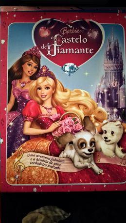 Livro Barbie e o Castelo de Diamante