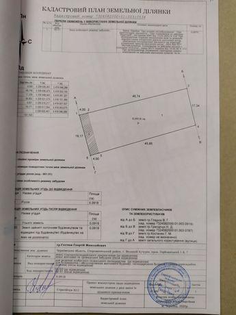 Земельна ділянка для будівництва і обслуговування житлового будинку