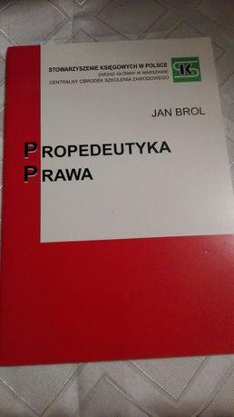 Propedeutyka prawa - Jan Brol