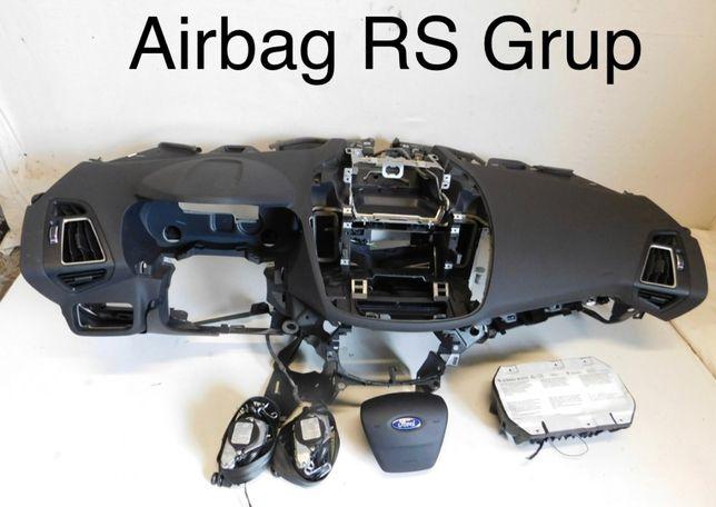 Ford C-max tablier airbags cintos