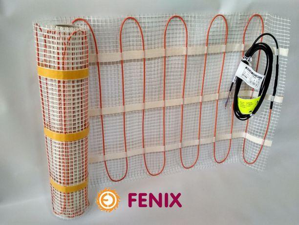 Скидки! Нагревательный мат Fenix (Чехия) LDTS M 800 Вт 5м2. Теплый пол