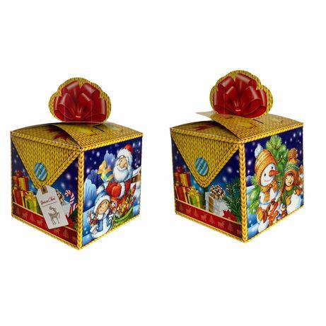 Упаковка коробка на новорічні подарунки цукерки до 900г