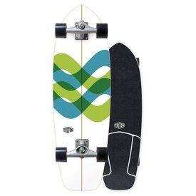 Surfskate carver triton raw 31 cx NOVO