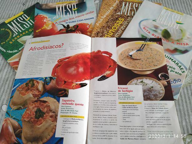 Lotes Revistas de culinária