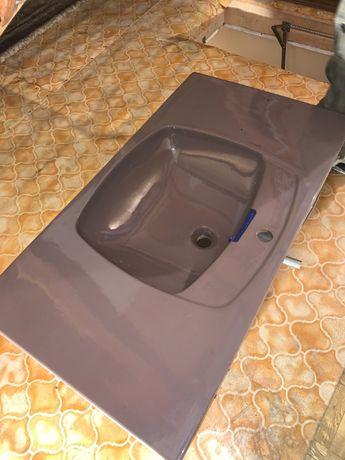 Komplet Łazienkowy Włoski Umywalka WC Muszla Bidet KERMAG