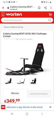 Cadeira Gaming NEXT LEVEL RAC Challenger Cockpit