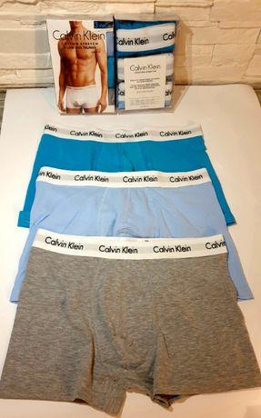 Bokserki Męskie 3pak Calvin Klein ! Super Jakosc ! Promocja DUZY WYBÓ