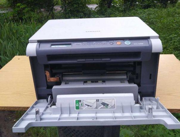 Лазерный принтер МФУ принтер сканер ксерокс Samsung 4200