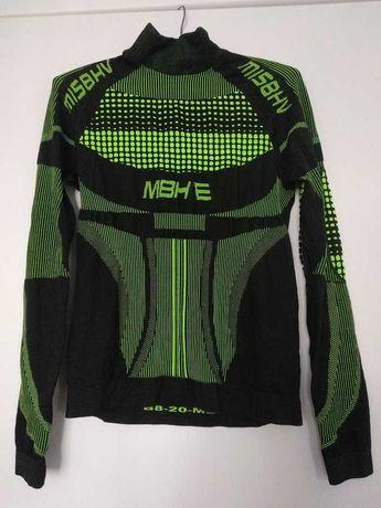 Czarno-zielona sportowa bluzka Misbehave