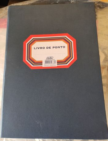 Livro de Ponto A4 100fls Firmo NOVO