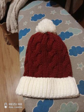Теплая шапка для девочек, девушек