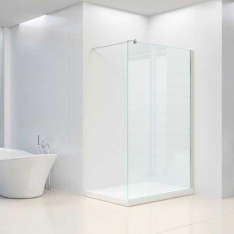 Ścianka prysznicowa walk-in 80 cm szkło 8 powłoka szyba kabina FRANCJA