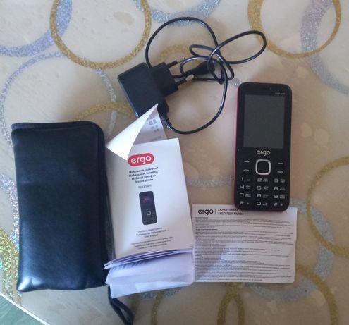 Продаю кнопочный телефон, фирма Ergo