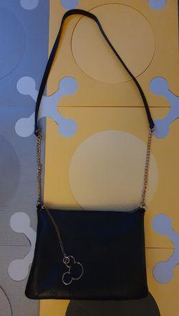 Mohito - torebka na ramię - czarna - Disney - Myszka Miki