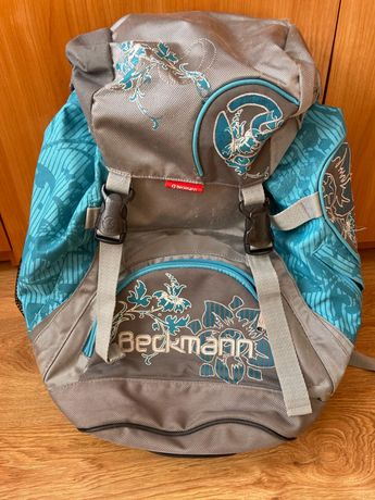 Niebieski plecak Beckmann usztywniane plecy