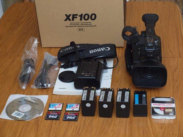 Canon XF100 Профессиональная видеокамера