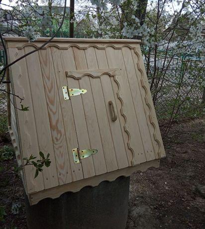 Дашок на криницю (крышка домик на колодец)