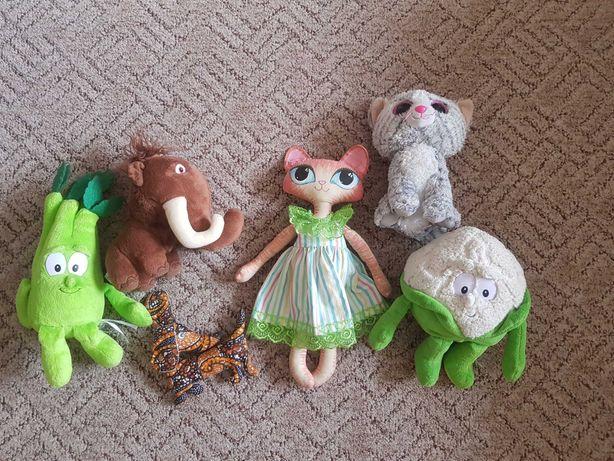 Мягкие игрушки 5шт