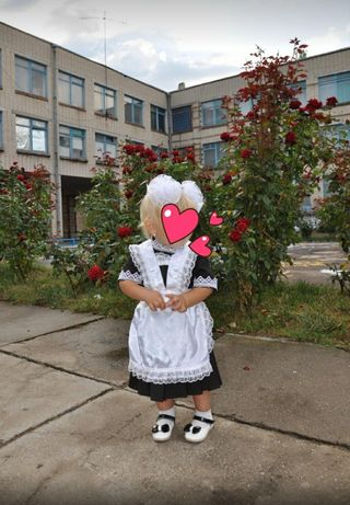 Школьная форма для маленькой девочки