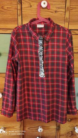 Koszula w kratę r. 140 na 10 lat firmy Coccodrillo