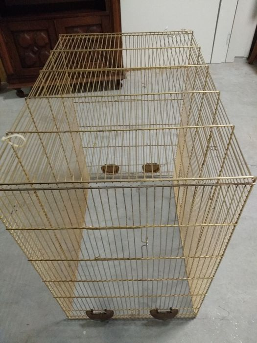 Gaiola para pássaros porte medio São Domingos de Rana - imagem 1