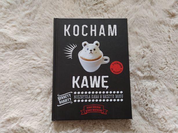 """Książka zgłębiająca tajemnice kawy i sztuki baristów ,,Kocham kawę"""" :)"""