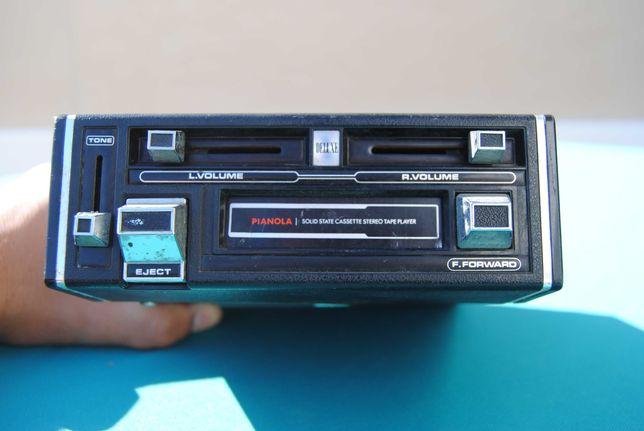 Rádio Antigo de Carro Pianola SC-3010 made in Japan