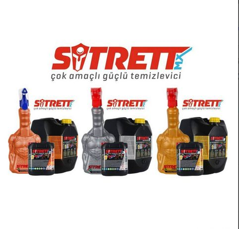 Универсальное чистящее средство Sitrett MX5 Premium Gold.