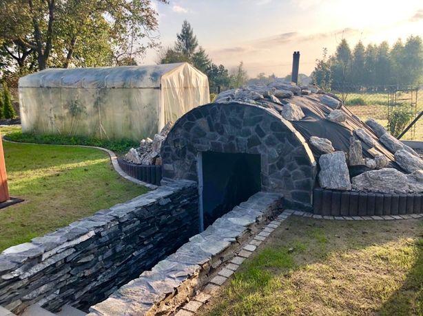 Piwniczka piwnica betonowa altanka ziemianka ogrodowa spiżarka