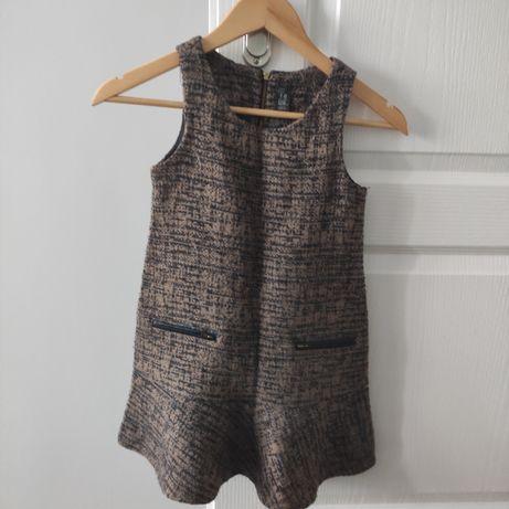 Zara sukienka typu princeska 7-8lat 128cm