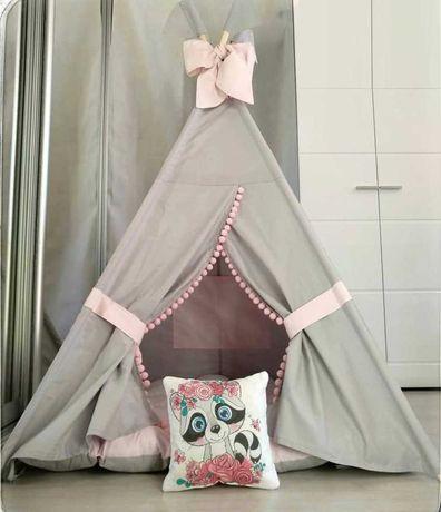 Детская палатка вигвам, шалаш,домик.Акция с ковриком