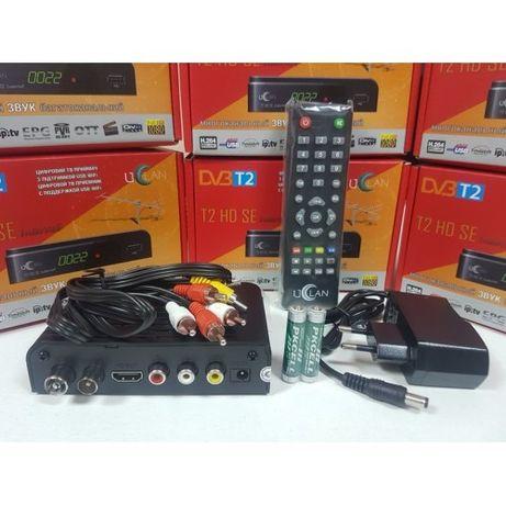 НОВЫЙ тюнер Т2 приставка ресивер Uclan T2 HD SE Internet DVB-C Гаранти