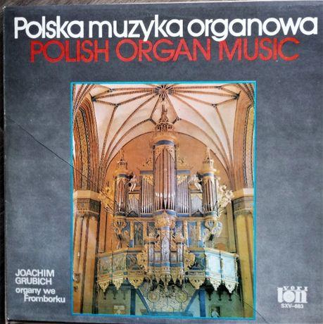 Polska muzyka organowa wyk. J. Grubich