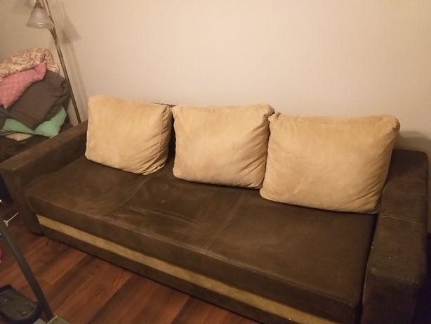 kanapa fotele puf