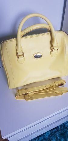 Żółta torebka orsay