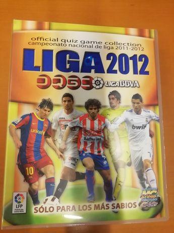 Caderneta de futebol - liga espanhola 2012