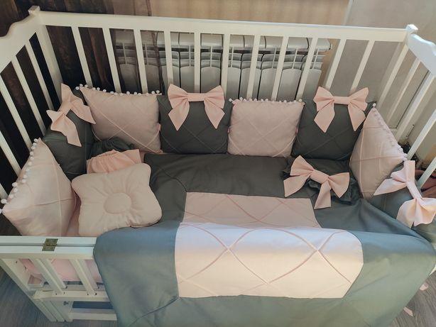 Набір в ліжечко,набор в кроватку,детское постельное