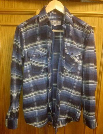 Рубашка мужская стильная под джинсы, 34 р.