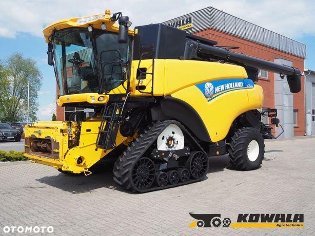 New Holland CR9090 + VF 12,5  kombajn rotorowy, GPS, kamera