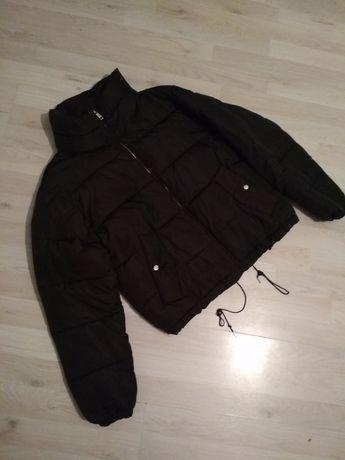 зимняя куртка базовая Pull & Bear размер S