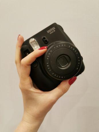Instax mini 8 Fujifilm czarny jak polaroid aparat fotograficzny natych